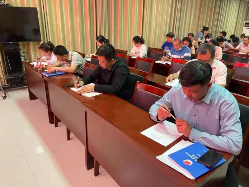 获嘉县司法局队伍教育整顿第八期夜校培训班持续开讲