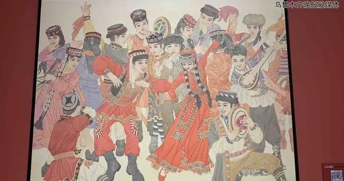 新疆美术馆和自治区文化馆21日同日开馆