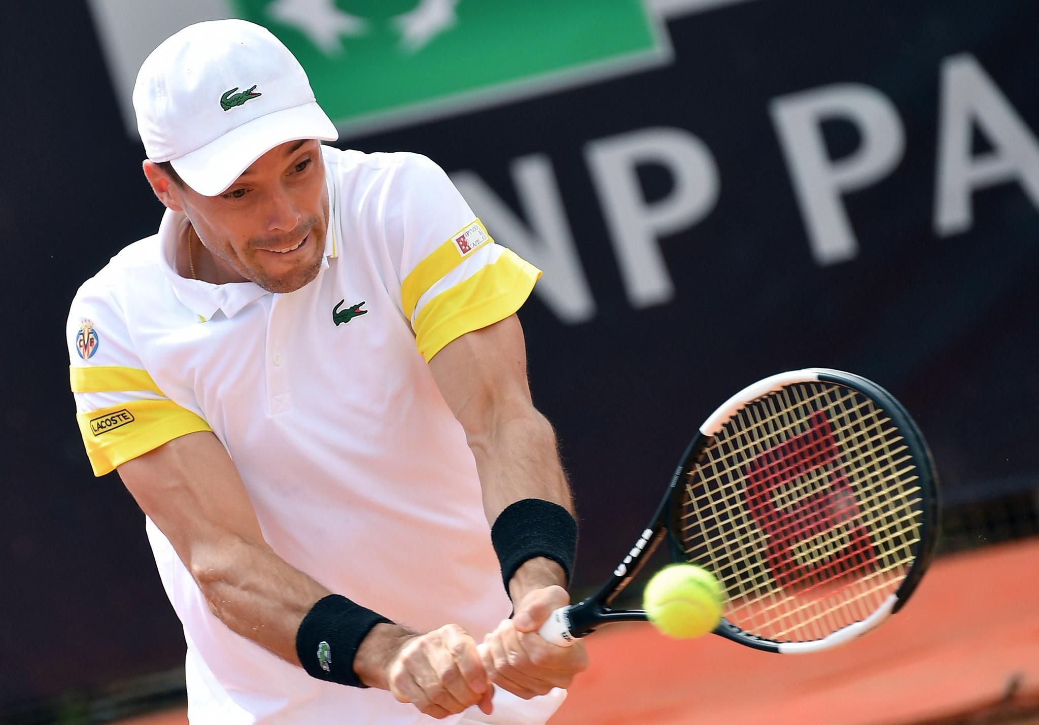 网球——意大利公开赛:阿古特晋级