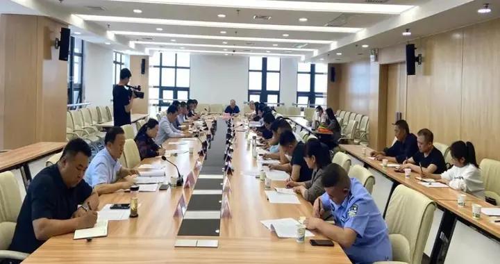 金台区召开配合保障省生态环境保护督察工作推进会