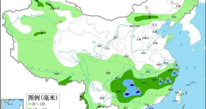 广西贵州等地有强对流天气 江南至沿淮河一带有较强降雨