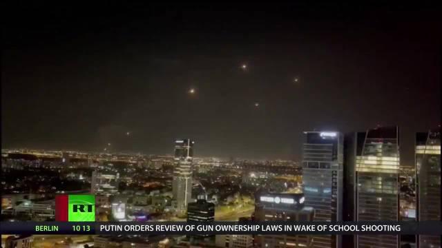 38小时内超千枚火箭弹袭击以色列,以色列铁穹防空系统一度故障
