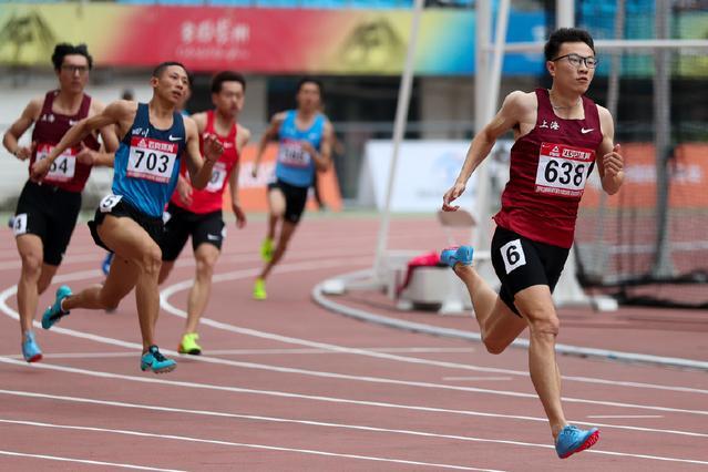10秒46,中国田径400第一人百米达健将 短跑天赋比苏炳添全面