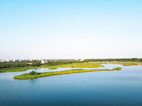 北海市惊现绝美原生态湖景美色,未来开发成旅游景点必火