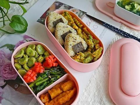 给老公做的工作餐便当火了,营养又美味,同事被馋到想来蹭饭