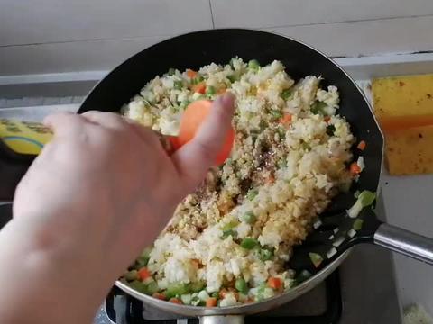 家常美味,什锦炒饭,简单好做,营养美味,全家都爱吃