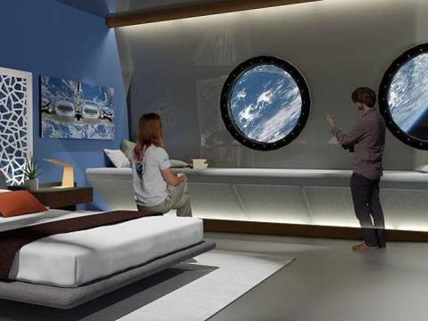 首个太空酒店即将开建,房间可容纳400人,90分钟绕地球一圈
