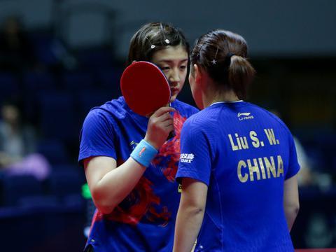 陈梦誓夺奥运会冠军!刘诗雯还是孙颖莎搭档,世界第一已锁定席位