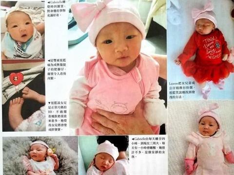 李亚男两个女儿近照,妹妹姐姐同框趴床萌呆,还是王祖蓝基因强大