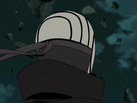 卡卡西万万没想到面具男和自己的时空间竟然相连!