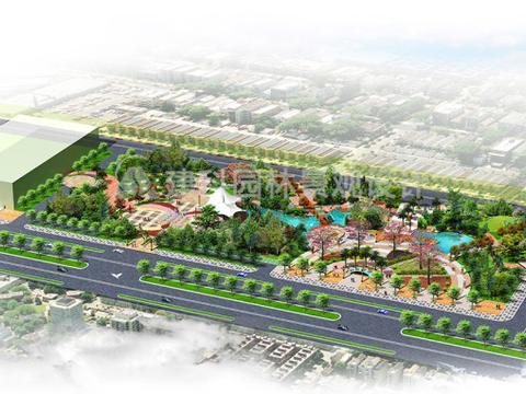 市政广场景观设计的原则 建科园林景观设计