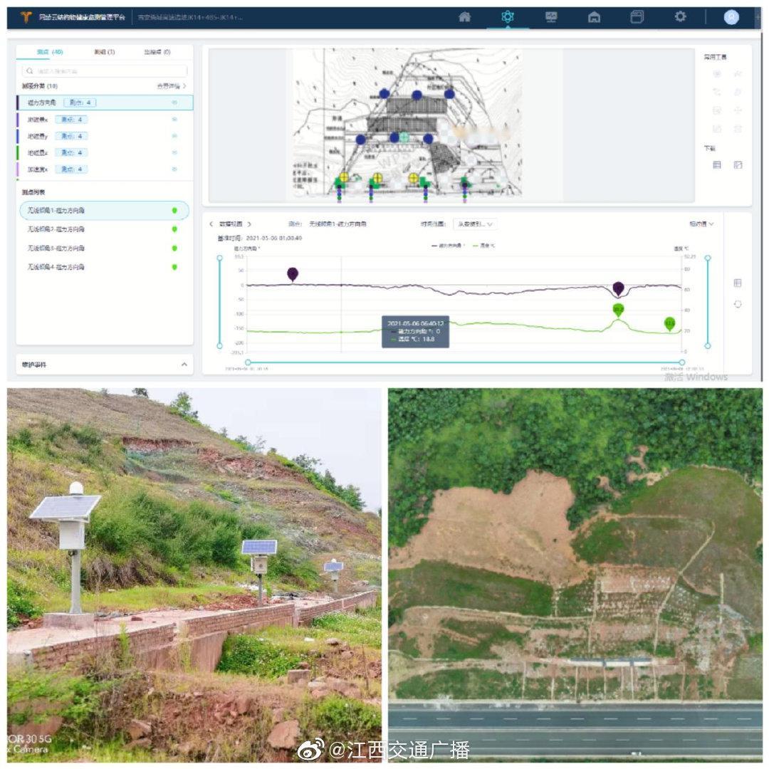 江西省交通设计院:北斗高精度定位技术助力高速边坡监测