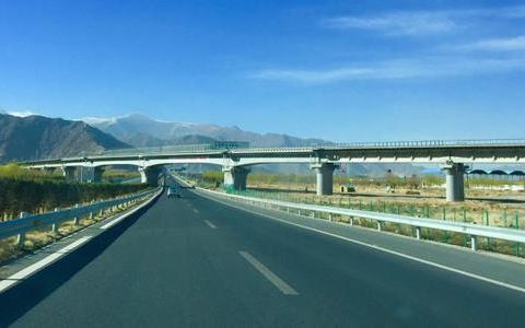 拉日高速公路建设全面提速 贯通后拉萨至日喀则车程缩短至3小时内