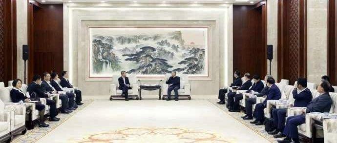 山东省委书记刘家义会见中国农业发展银行董事长钱文挥