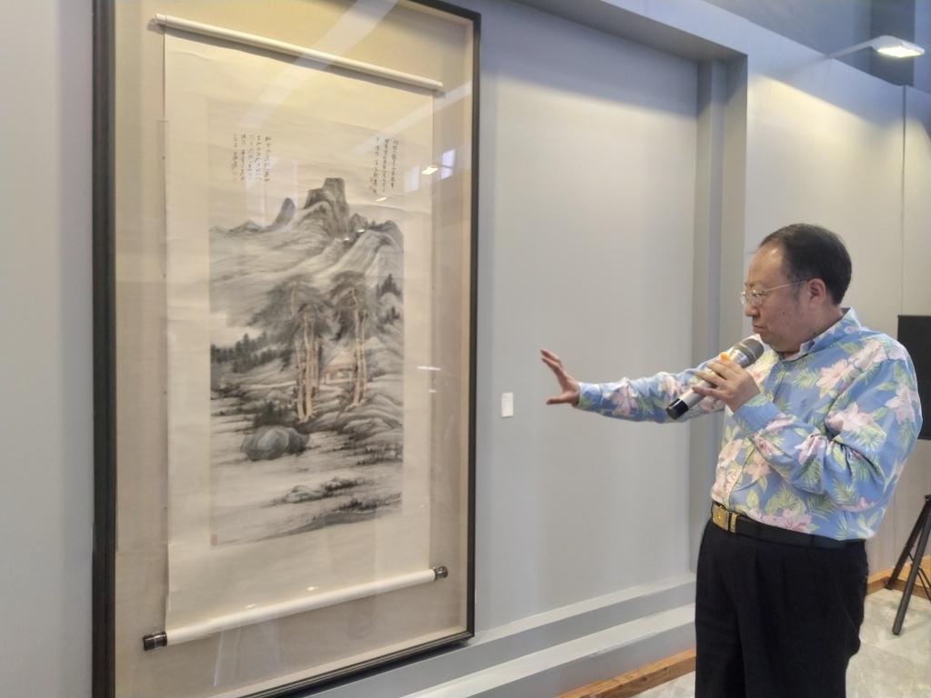 张大千美术珍品展下周揭幕