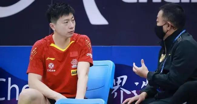 马龙坦言直通赛很紧张,备战奥运压力大!刘国梁让大家珍惜马龙
