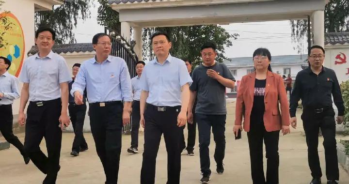 河南南阳市委组织部部长李永到唐河调研全域党建工作