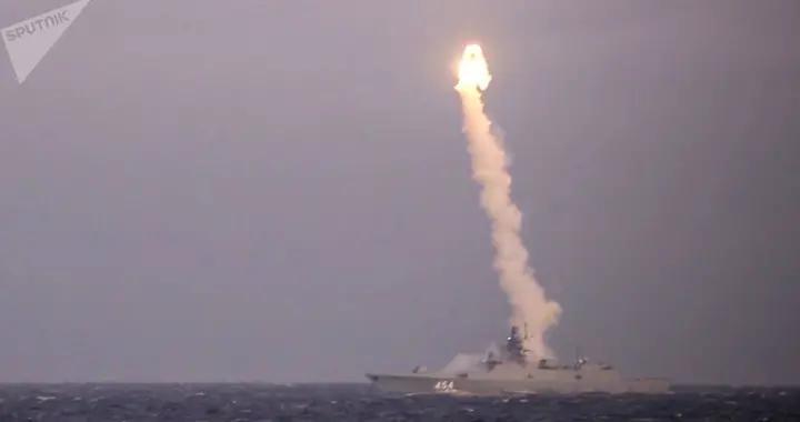 俄军22350型护卫舰首舰起航,执行高超音速导弹最终测试任务