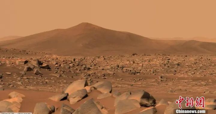 """NASA""""毅力号""""传回火星山丘""""圣克鲁斯""""照片"""