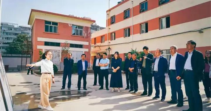 榆中县住建局参观学习老旧小区改造先进经验