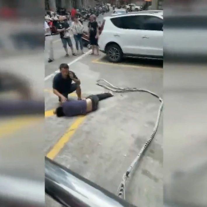 一男子从5楼坠下!当时他正在…