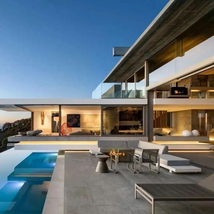 绝美意境,绝美的别墅