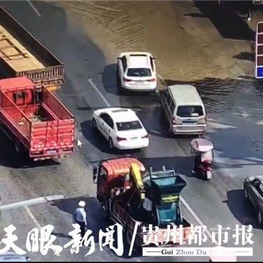 @清镇市民:这三个路段已恢复正常通行