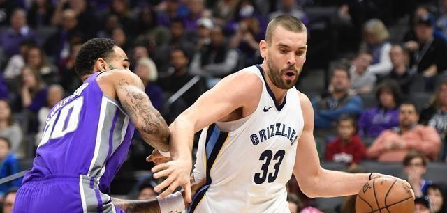 NBA:孟菲斯灰熊vs萨克拉门托国王