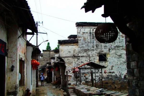 安徽一个原生态的古镇