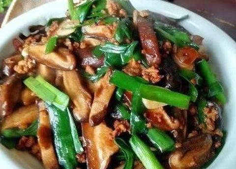 美食优选:辣椒炒鸡蛋,香菇肉片,酱烧黄鳝,肉末香菇炒韭菜