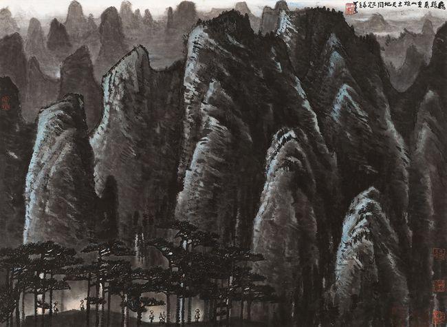 黄胄最大尺幅《驯马图》再现 领衔北京保利2021春拍中国书画板块