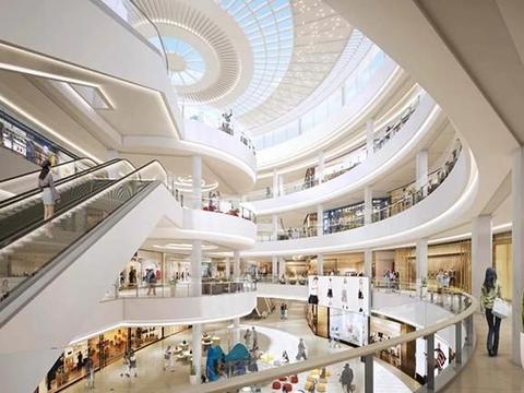 购物中心设计实现跨界融合,地铁万科广场营造独特购物意境
