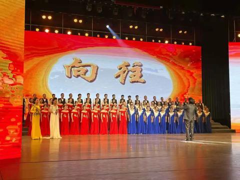 咸阳市中心医院精心编排文艺演出向党献礼、共庆节日