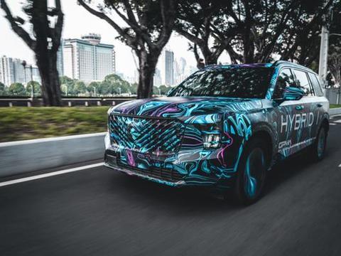 将会推出混合动力车型 广汽传祺GS8将迎来换代