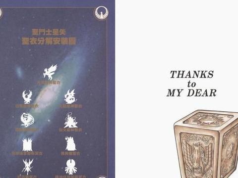 《圣斗士星矢》:车田正美笔下的圣衣赏析,漫画版圣衣分解图谱