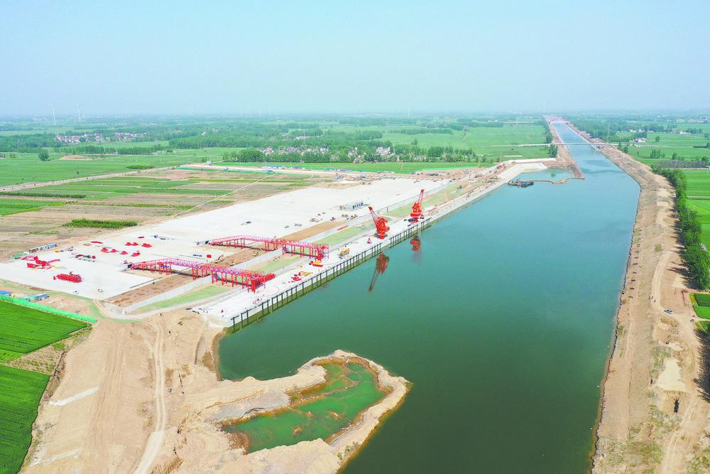 菏泽巨野:建设航运枢纽,打造立体交通