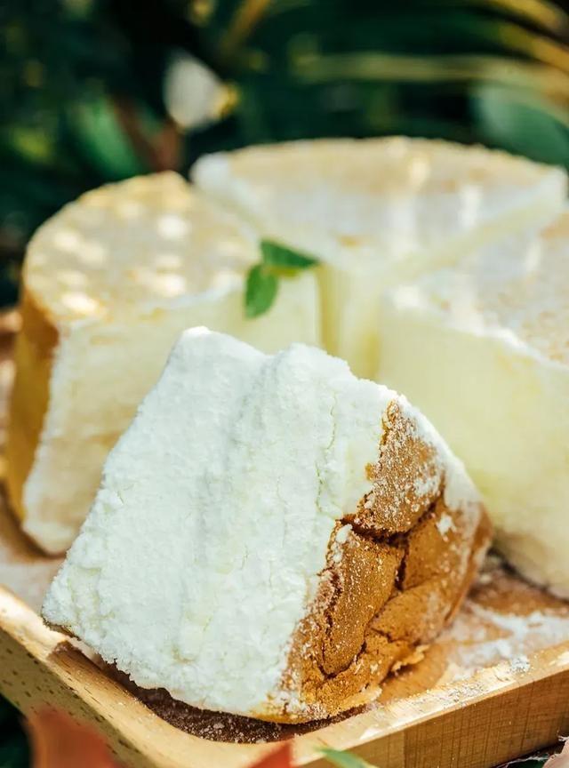 新晋夏日网红单品,日式冰乳酪戚风蛋糕,冰凉轻甜好滋味
