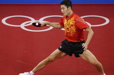 世乒赛三冠王,无缘奥运男单冠军,外型出色曾与赵薇相恋