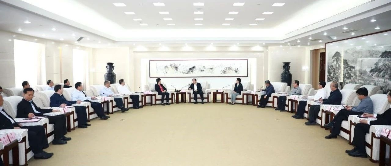 孙立成会见省会经济圈城市政协主席联席会议来宾