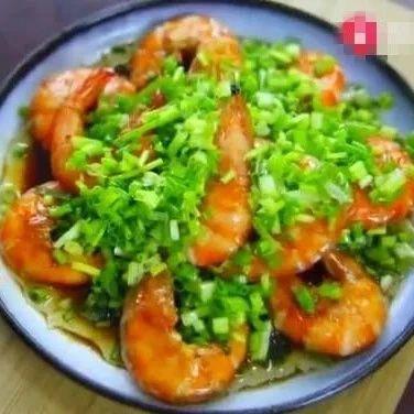 【今日晚饭】家烧葱油虾,简单的海派私房菜,吃过的都赞不绝口!
