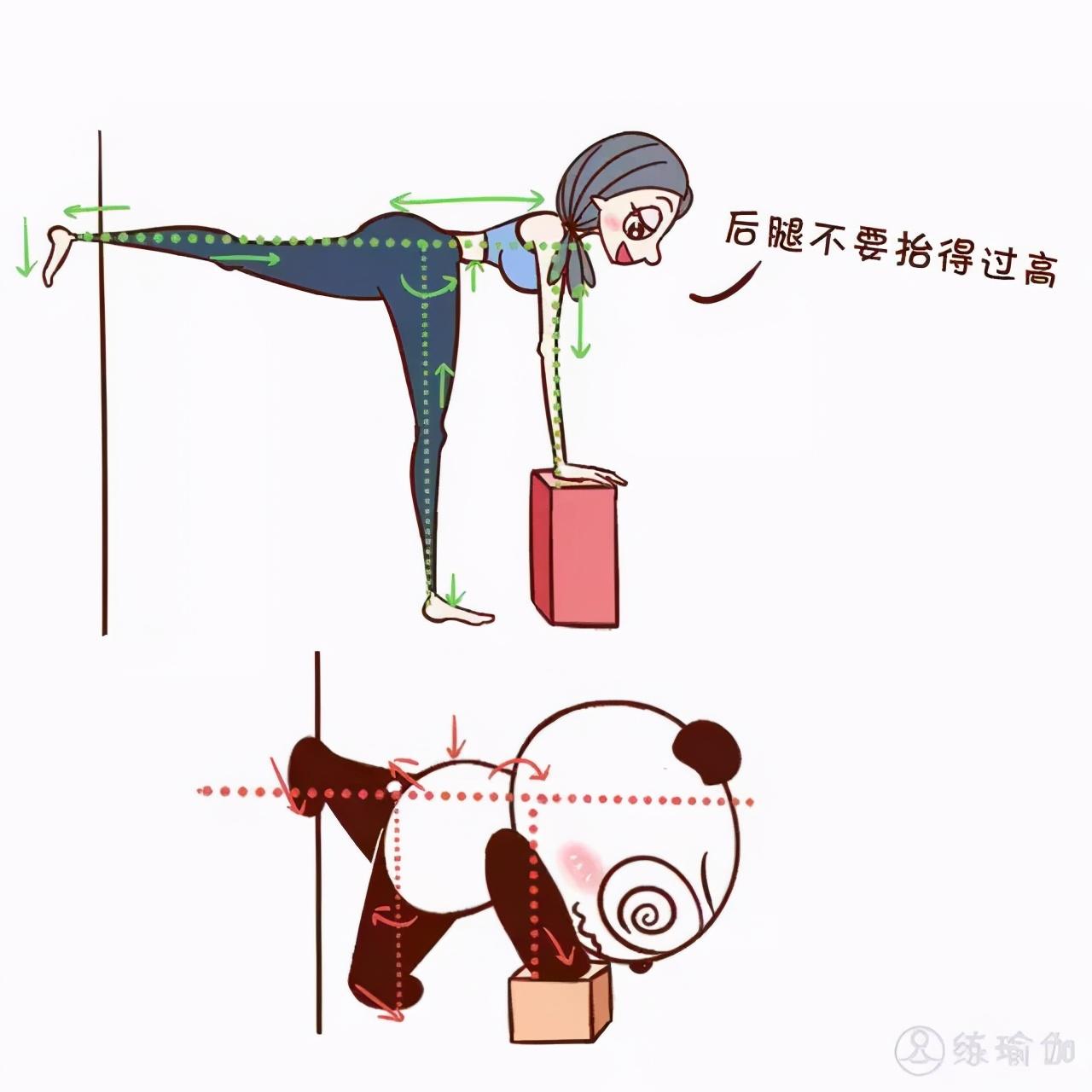 初学者要记:容易做错的4组瑜伽体式,小白伽人记得要看