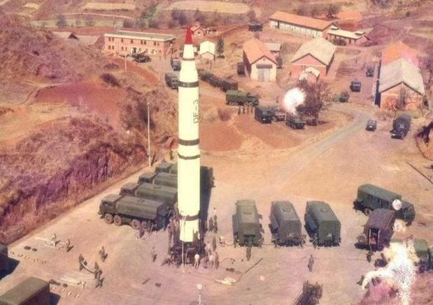 东风3导弹从进入沙特开始,就一直发挥着威慑作用
