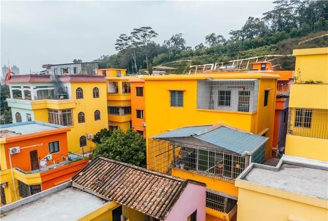 广东也有彩虹村,五彩斑斓的梦幻村落,满足最少女心的你