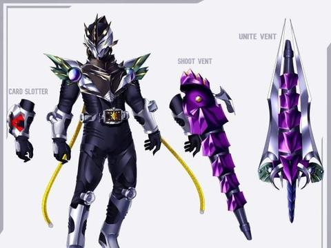 假面骑士:漫迷创作的6位骑士,亚马逊变不死剑士,新千骑很帅气