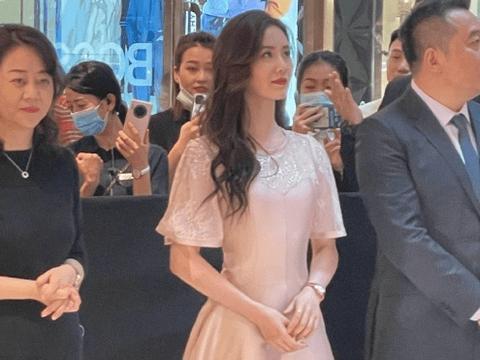 刘诗诗最新生图,粉色礼服裙端着高脚杯畅饮,大17岁吴奇隆好眼光