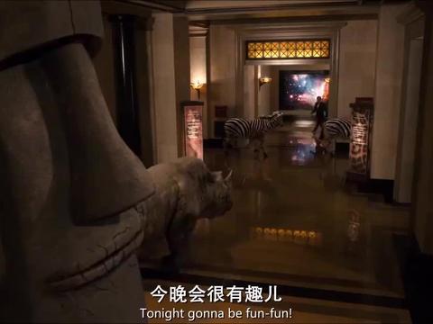 奇妙夜:不愧是顶级博物馆,里面应有尽有,连恐龙都是活的