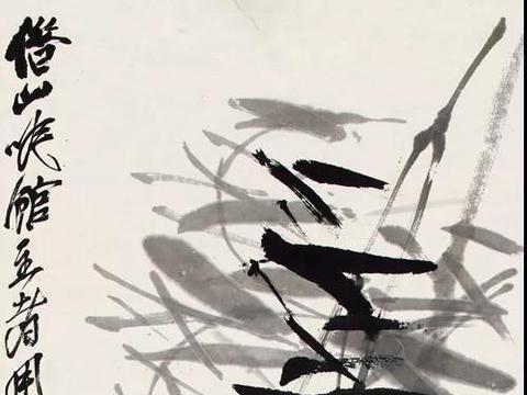 晚年的齐白石在北京画松,少白汤发周说他,想的却是家乡的松林