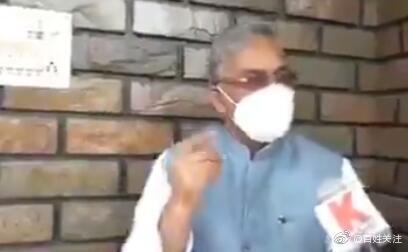 迷惑发言 印度政客称新冠病毒有生存权利:从哲学角度看,新冠病毒也是一个生命体