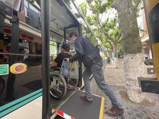 巴士一公司:让残疾人出行更有温度