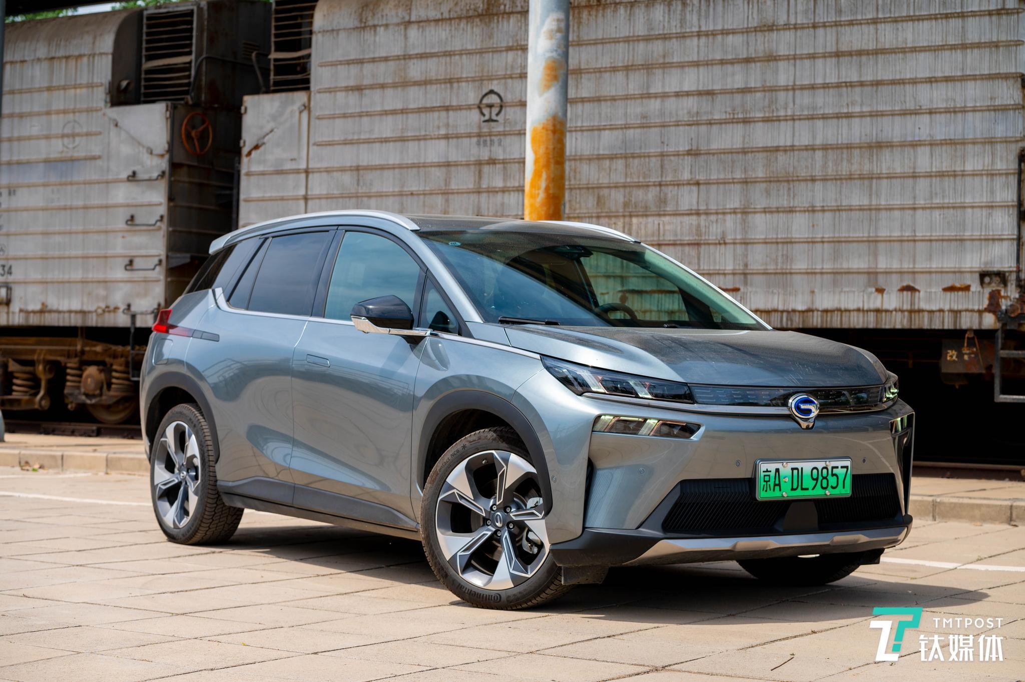 广汽Aion V试驾,这是智能化SUV该有的样子 | 钛极客
